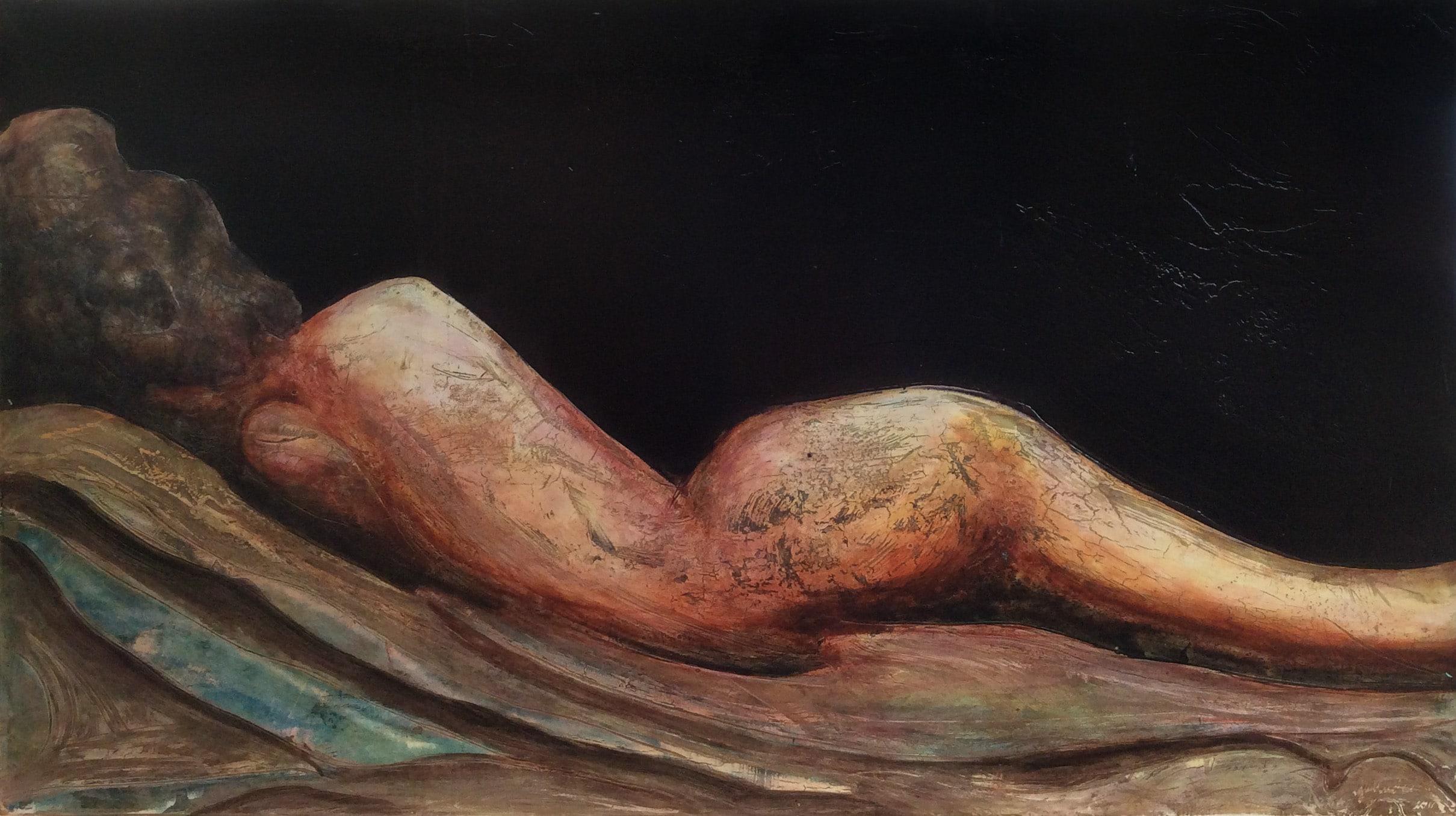 laid naked