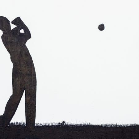 golf swing small 80 x 55