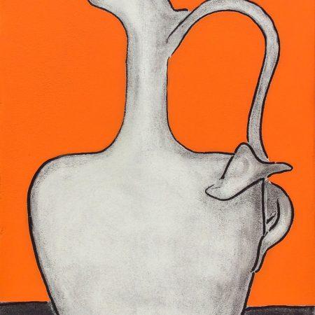 Vase in Orange