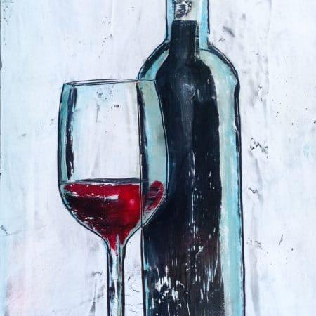 bottiglia e vino