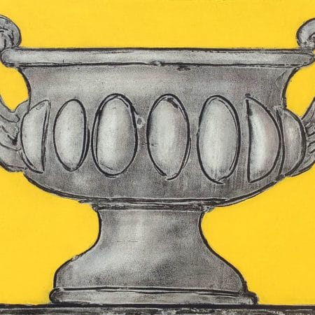 vase in yellow