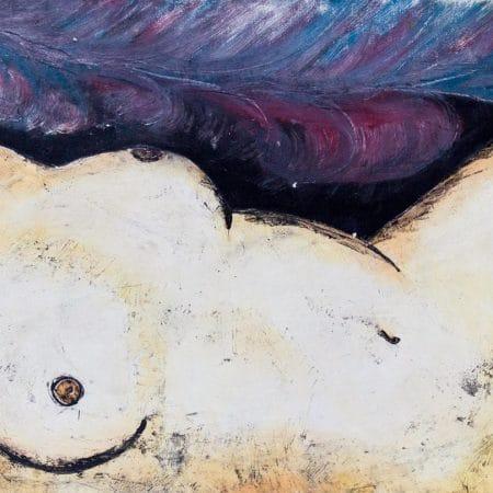 Nudo in Bianco 83 x 184