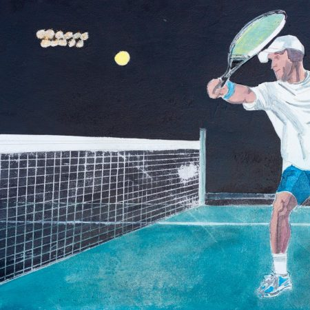 tennis player 80 x140
