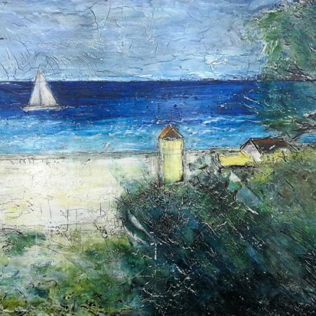 forte dei marti, pittura, painting on fresco