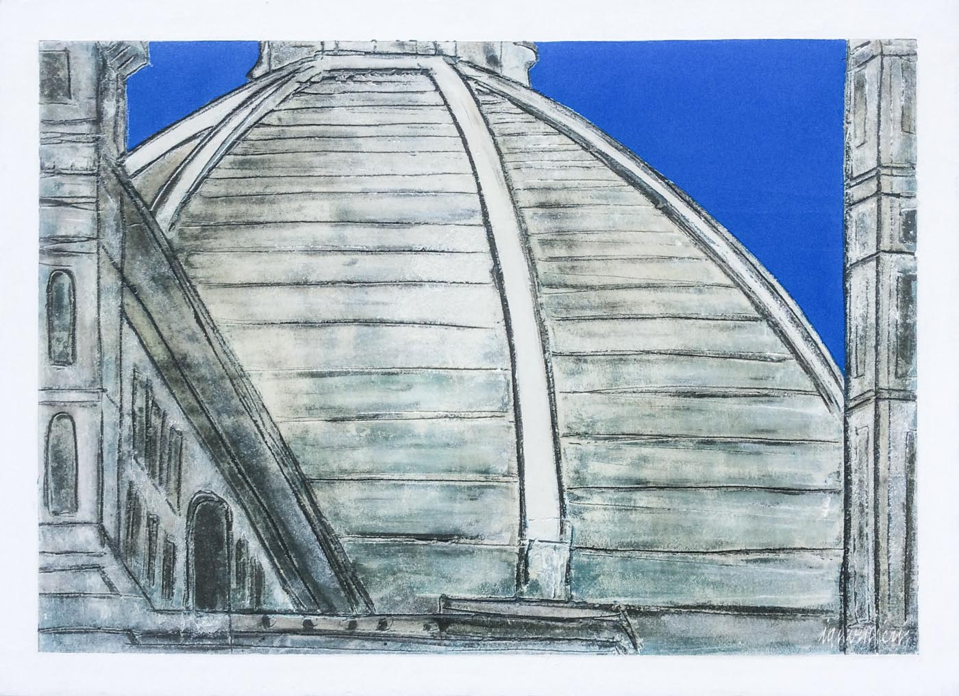 Florence Dome: Contemporary Art Gallery Studio