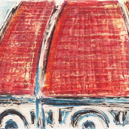 Duomo rosso 2015 60x80cm-23x31inch
