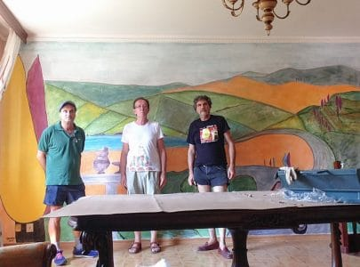 New Mural Fresco Painting