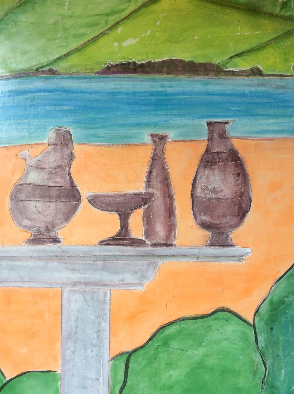 New Mural Fresco Painting