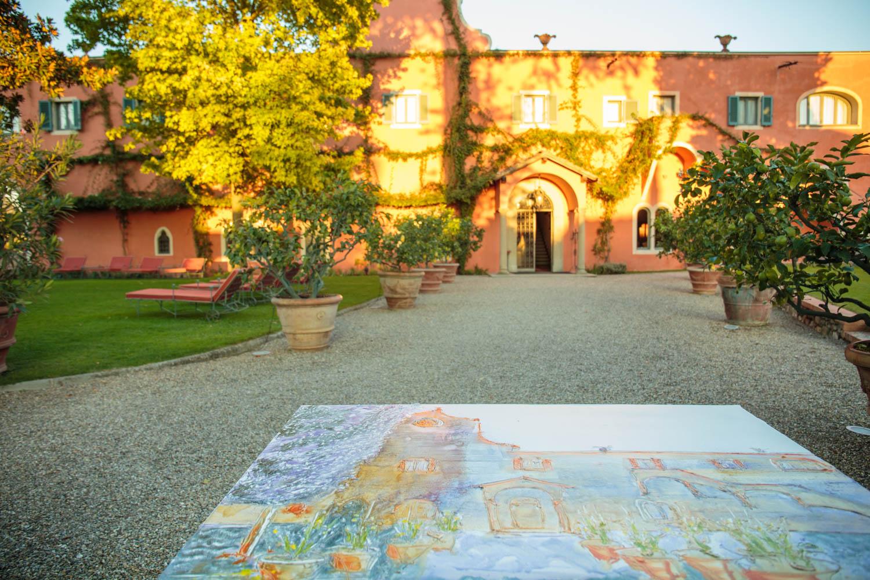 Fresco Painting en Plein Air chapter II Villa La Massa