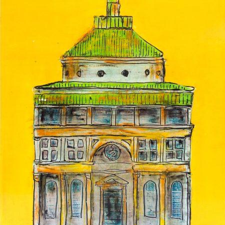capella dei pazzi 40 x 50