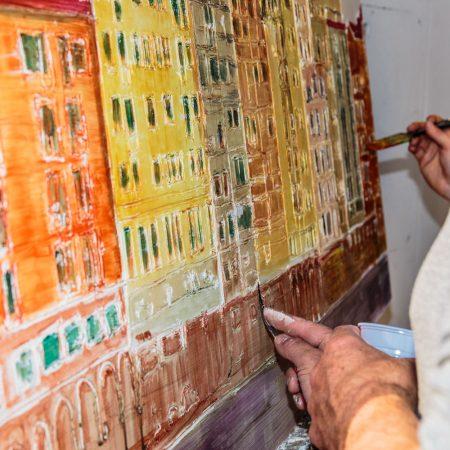Fresco en Plein Air Chapter III Portrait