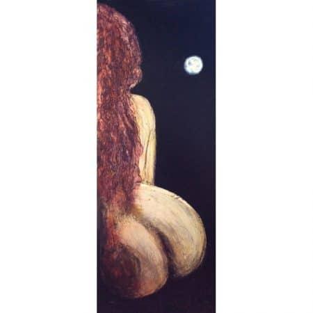 la rossa e la Luna 77×182