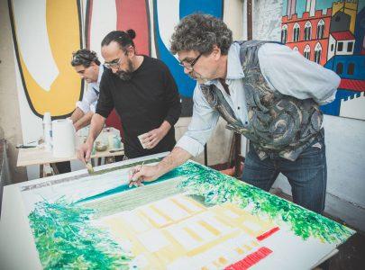 Fresco en Plein Air Final Chapter, IV Studio
