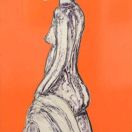 nudo in arancio