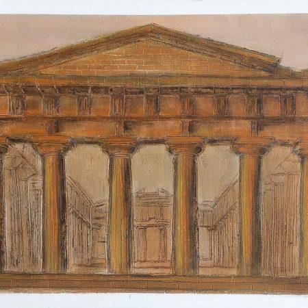 greek temple. sicily
