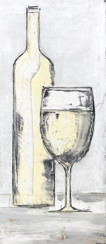 White Wine 24 x 48 inch