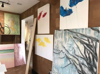 Fresco paintings Savannah GA, USA