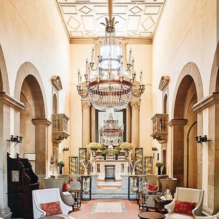 Villa San Michele Exhibition