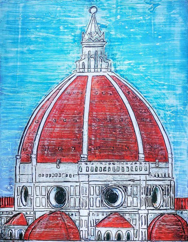 Firenze Duomo Rosso