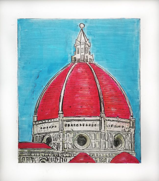 Brunelleschi Florence Dome. Icon of Florence.