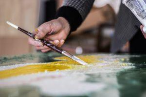 art gallery florence, fresco paintings