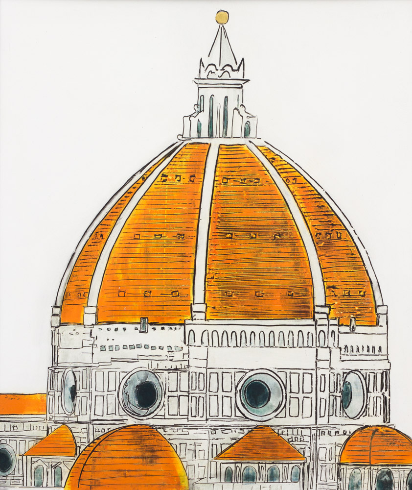 Florence Dome: Florence Dome Orange Small