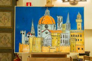 Florence antique, contemporary art florence, Verrocchio