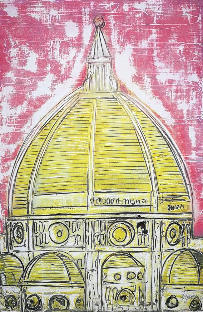 firenze pop, arte contemporanea, affreschi, fresco paintings, art gallery florence