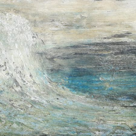 ocean wave, master piece contemporary art florentine art